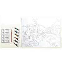 Ceo Art 30X40 Desenli Tuval Seti 1025 Ceo00007