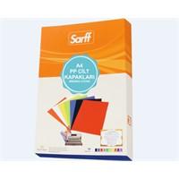 Sarff 450Mic.A3 Opak Siyah Cilt Kapağı 50 Ad. 15201127