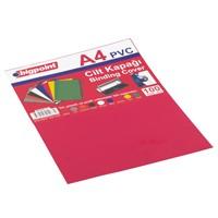 Bigpoint Cilt Kapağı A4 Şeffaf Kırmızı 100'Lü Bp68825t