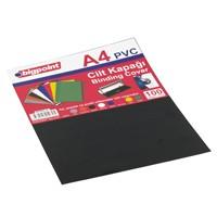 Bigpoint Cilt Kapağı A4 Opak Siyah 100'Lü Bp68895