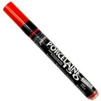 Pebeo Porcelaine 150 Marker Fırınlanabilir Porselen Boyama Kalemi Scarlet Red