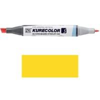 Zig Kurecolor Twin S Grafik Ve Mimari Proje Çizim Kalemi Yellow