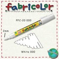 Zig Fabricolor Kumaş Boyama Kalemi Beyaz