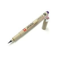 Sakura Pigma Brush Pen Çizim Kalemi Fırça Uçlu Purple Mor