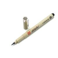 Sakura Pigma Brush Pen Çizim Kalemi Fırça Uçlu Black Siyah