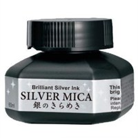 Zig Silver Mica Metalik Gümüş Renk Mürekkep 60 Ml.