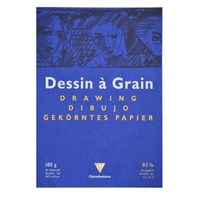 Clairefontaine Dessin A Grain İnce Dokulu Çizim Bloğu 30 Yaprak 180 Gr. A3