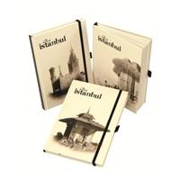 Lecolor Old İstanbul Notebook 15*21 Cm 96 Yaprak Çizgili 80440/1