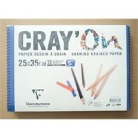 Clairefontaine Resim Defteri Cray'on 25X35 160Gr 15 Yaprak 966835