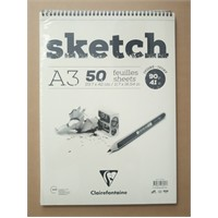 Clairefontaine Resim Defteri Sketch A3 90Gr 50 Yaprak 96160