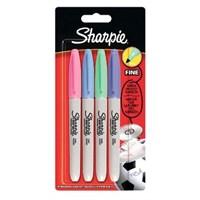 Sharpie Kalem Permanent Markers Pastel 4 Renk