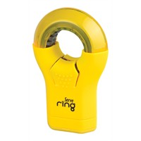 Serve Ring Silgi+Kalemtıraş 8'Li Karton Kutu Fosforlu Sarı Sv-Rıng8Ktfs