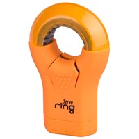Serve Ring Silgi+Kalemtıraş 8'Li Karton Kutu Fosforlu Turuncu Sv-Rıng8Ktft