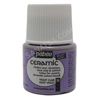 Pebeo Ceramic Seramik Boyası 36 Light Violet