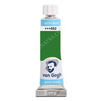 Talens Van Gogh 10 Ml. Tüp Sulu Boya 662 Permanent Green