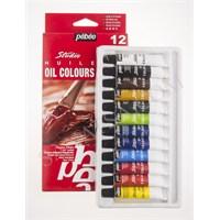 Pebeo Huile Oil Colours Studio Set 12 Renk Yağlı Boya