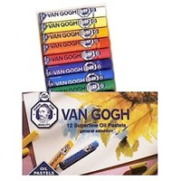 Talens Van Gogh Superfine Oil Pastels Yağlı Pastel Boya 12 Renk