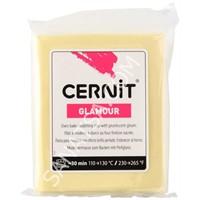 Cernit Glamour (Metalik) Polimer Kil Yellow