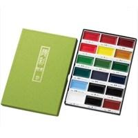 Zig Kuretake Gansai Tambi Profesyonel Japon Sulu Boya Özel Pigment 18 Renk