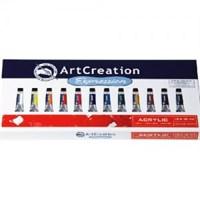 Talens Artcreation Acrylic 12 Renk Akrilik Boya