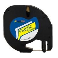 Dymo Letratag Muadili Plastik Serit Etiket Sarı
