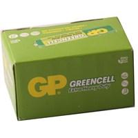 GP 40'lı Greencel AAA Boy İnce Çinko Karbon Pil (GP24G-2S40)