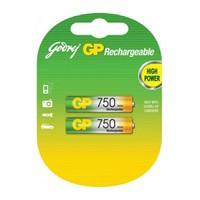 GP 2'li ReCyko 750 Serisi Ni-Mh Şarj Edilebilir AAA İnce Pil (GP75AAAHCEMTR-2GB2)