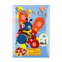 Kiddy Clay Spaghetti Hamur 8 Renk Kelebek Bpkspgbfly