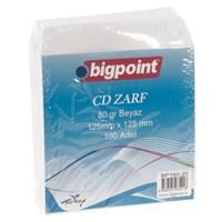 Bigpoint 160-20 Cd Zarfı 125*125 80Gr 100 Lü Bp16020