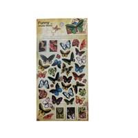 Bigpoint 851-13 Sticker Kelebekler Bp85113