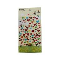 Bigpoint 851-22 Sticker Çok Renkli Kalpler Bp85122