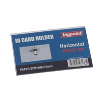 Bigpoint 647 Yaka Karti İğneli 90X54 Bp647