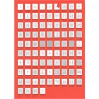 Bp A4 Lazer Etiket Ölçüleri 52,5 X 33 Mm 100 Sayfa Laser Yazıcı Etiketi