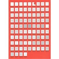 Bp A4 Lazer Etiket Ölçüleri 46,4 X 21,2 Mm 100 Sayfa Laser Yazıcı Etiketi