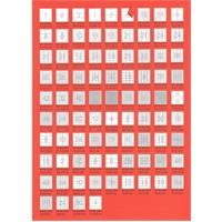 Bp A4 Lazer Etiket Ölçüleri 30 X 9 Mm 100 Sayfa Laser Yazıcı Etiketi