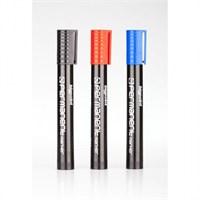 Bp Permanent Markör Kalem Kesik Uçlu Koli Kalemi 12 Adet Karışık Renk