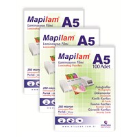 Mapilam 250 Mic. A5 Parlak Polyester (100 Adet)
