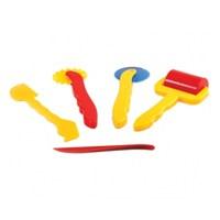 Bu-Bu Plastik Oyun Hamuru Aksesuarları 26 Parça BUBU00004