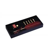 Steelpen Calligraphy Pen Set Kuş Tüyü Yazı Seti Cs-0205