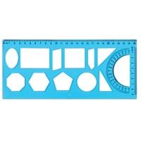 Ark Geometrik Şablon Cetveli No:1