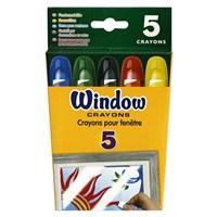 Crayola Cam Mum Boyası 5 Renk