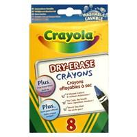 Crayola Beyaz Tahta Pastel Boyası 8 Renk