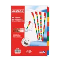 Globox Mylar Separetör 10 Renk 6548