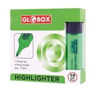 Globox Yeşil Fosforlu Kalem 10Lu 6789