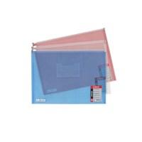 Globox Fermuarlı Kırmızı Dosya A4 6217