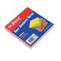 Globox Yapışkanlı Not Kağıdı 75X75 100 Yp. Neon 6633