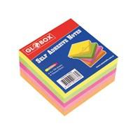 Globox Yapışkanlı Not Kağıdı 75X75 400 Yp. Neon 6636