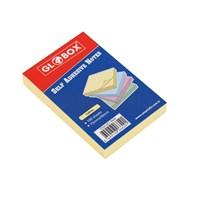 Globox Yapışkanlı Not Kağıdı Pastel Sarı 75Mm x 50Mm 100 Sayfa