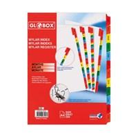 Globox Mylar Separatör 1-12 Rakam 6543