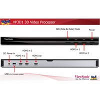 Viewsonic VP3D1 3D Processor Box(3D Dönüştürücü)